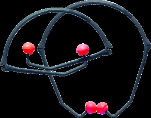Howard Leight PerCap banded earplugs