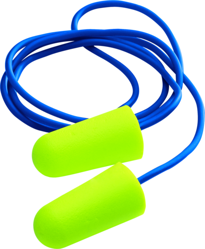 UVEX X-Fit disposable earplugs - corded