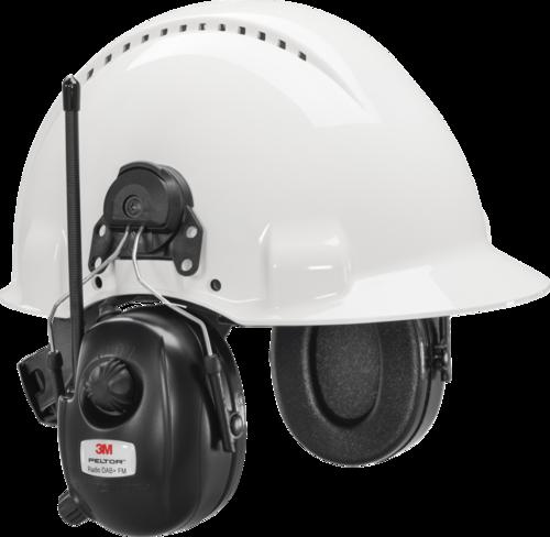 3M Peltor DAB+ FM-Radio f/ helmet