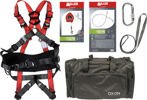 OX-ON Fall protection kit w/ SRL Supreme L/XL