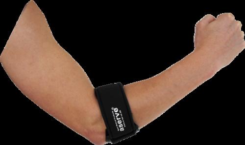 Aserve Elbow Strap w/gel