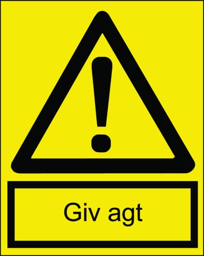 Giv agt - Folie