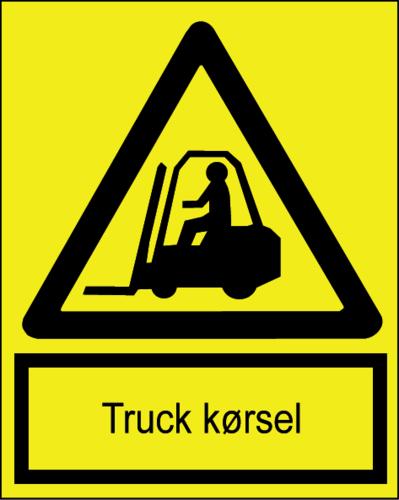 Truck kørsel - Folie