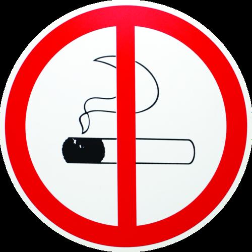 Rygning forbudt - Plast
