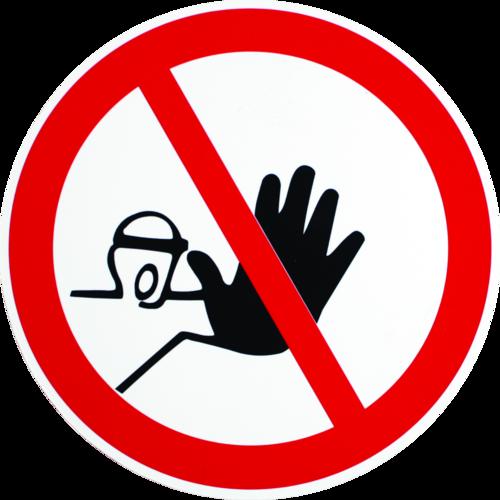 Adgang Forbudt - Plast