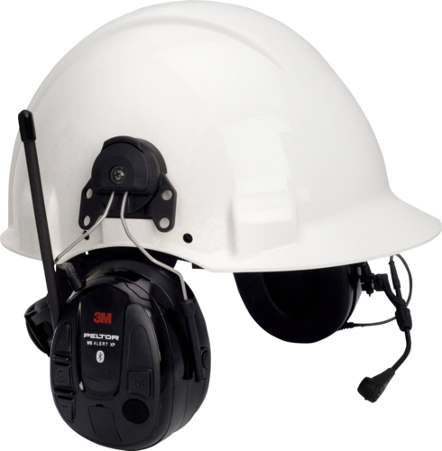 3M Peltor WS Alert XP f/helmet