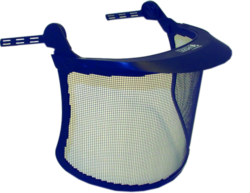 Howard Leight Mesh face shield complete