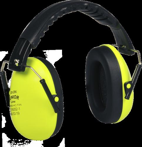 OX-ON Junior Earmuffs Basic (Lime)