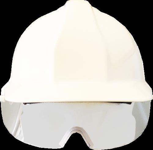 Centurion retractable eye shield