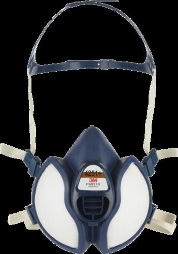 3M Maintenance Free Half Mask 4277+