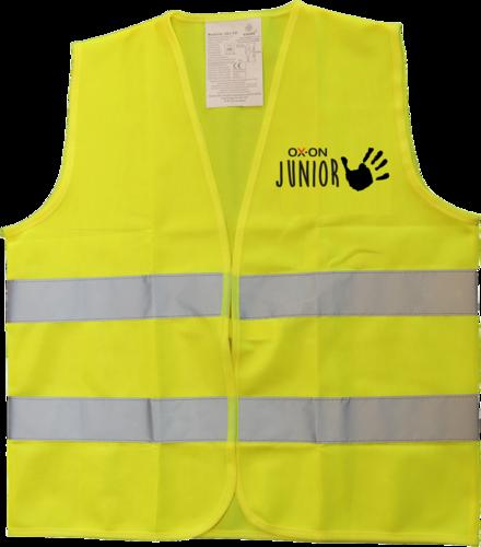 OX-ON Junior Traffic Vest Comfort – Hi-Viz Yellow