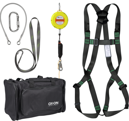 OX-ON Fall protection kit w/ SRL Basic L/XL