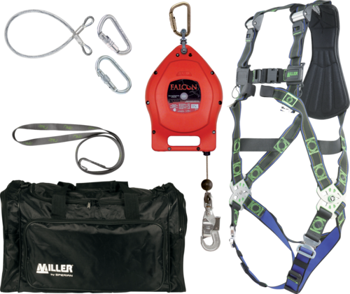 Miller Fall protection kit w/ SRL L/XL