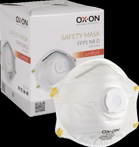 OX-ON Mask FFP1 NR D w/ Valve Comfort