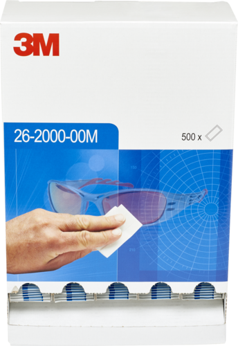 3M Cleaning Towelette, dispenser with 500 pcs.