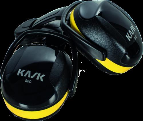 Kask SC2 f/Helmet -Black/Yellow