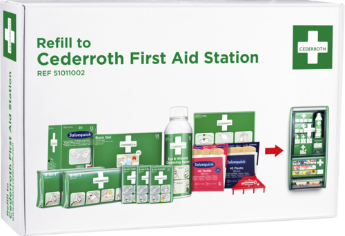 Cederroth Refill pack f. First Aid Station