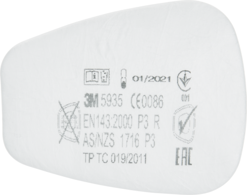 3M Particle Filter Class P3 R,  5935