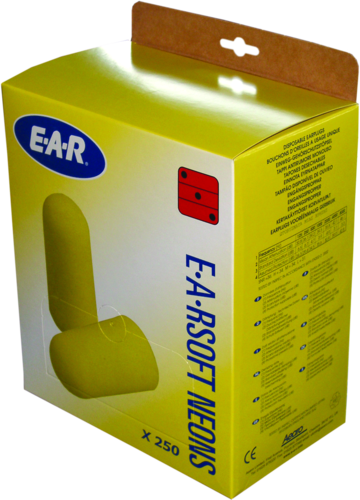 3M E-A-R Soft Neon earplugs