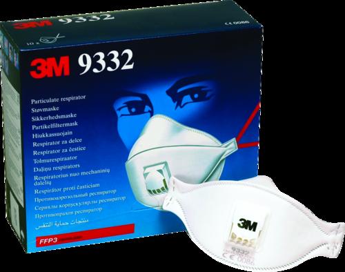 3M Aura 9332+ FFP3 w/ Valve