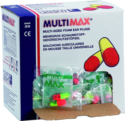 Howard Leight Multi Max earplugs