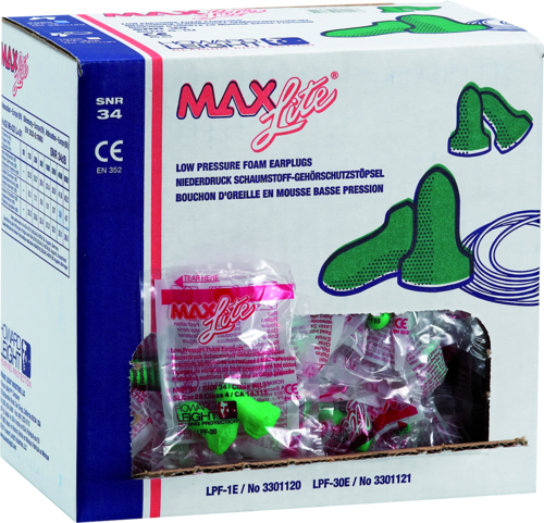 Howard Leight Max Lite earplugs
