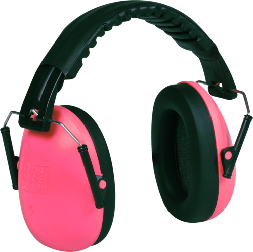 OX-ON Junior Earmuffs Basic (Pink)