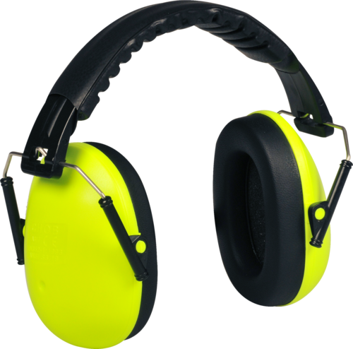 OX-ON Junior Earmuffs Basic (Lime)