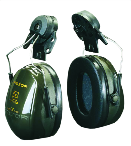 3M Peltor Optime II f/helmet