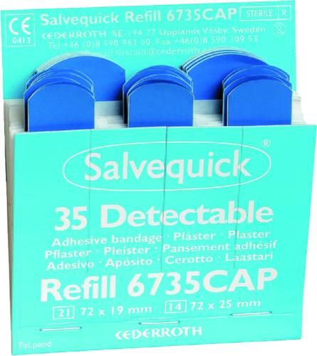 Salvequick Plaster - detectable
