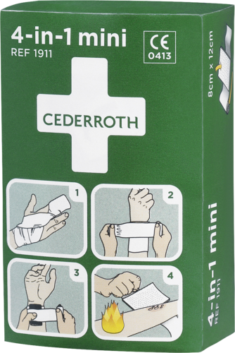 Cederroth 4-in-1 bloodstopper mini