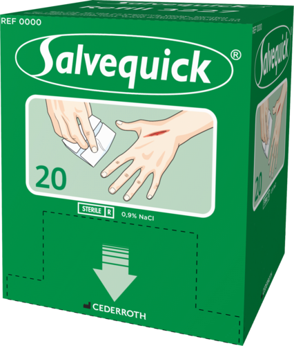 Salvequick Wound cleanser
