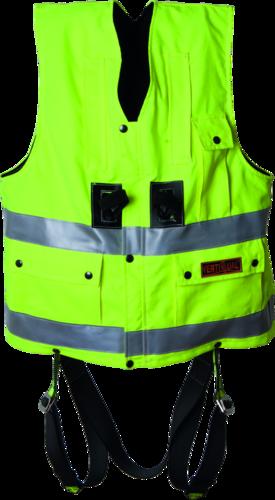 OX-ON Hi-Viz Vest w/harness Comfort