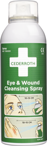 Cederroth Eye & Wound cleansing spray