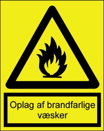 Oplag brandfarlige væsker