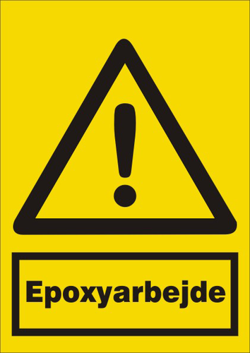 Epoxyarbejde - Folie