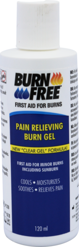 BurnFree gel, 120 ml