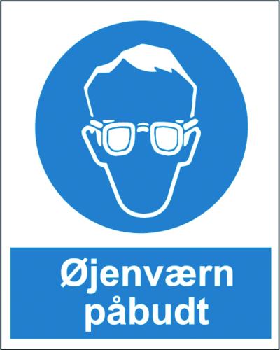 Øjenværn påbudt