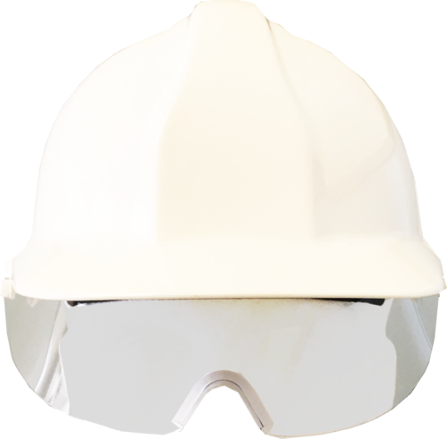 Centurion retractable eye shield