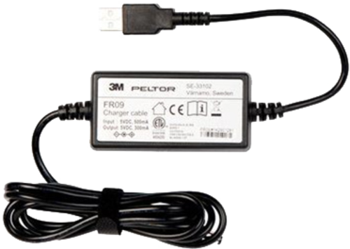 3M Peltor FR09 Battery charger with USB connector