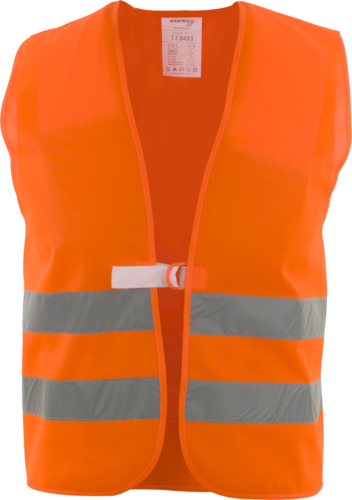 ASATEX Traffic Vest - Hi-Viz Orange