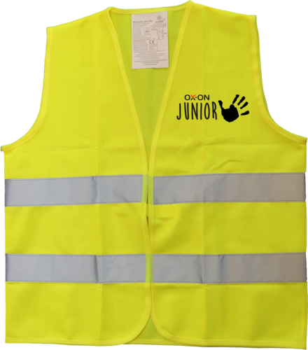OX-ON Junior Traffic Vest Comfort – Hi-Viz Yellow