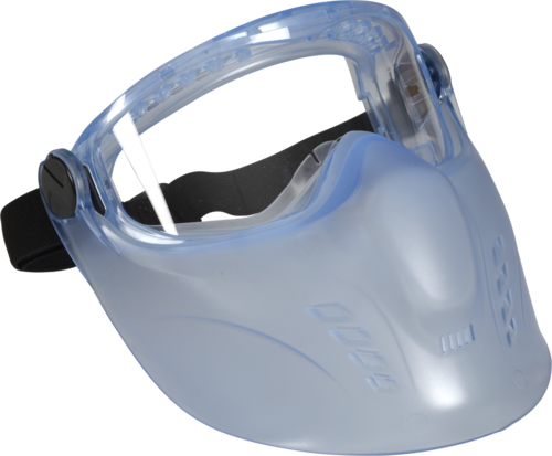 OX-ON Safety Goggle w/Face Shield Supreme