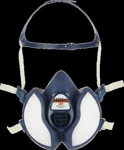 3M Maintenance Free Half Mask 4255+