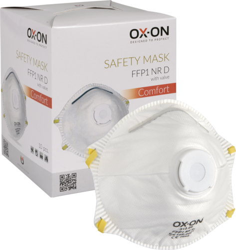 OX-ON Mask FFP1 NR D w/ Valve Comfort