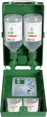 OX-ON Eyewash station w/ 2 x 500 ml bottles